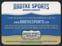 Deuce McAllister Signed Saints Full-Size Authentic On-Field Speed Helmet (Radtke COA) at PristineAuction.com