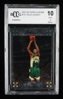 Kevin Durant 2007-08 Topps Chrome #131 RC (BCCG 10) at PristineAuction.com