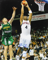 Carlos Boozer Signed Team USA 16x20 Photo (JSA COA) at PristineAuction.com