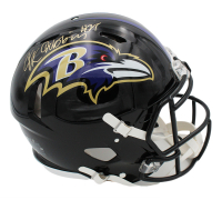 J. K. Dobbins Signed Ravens Full-Size Authentic On-Field Speed Helmet (JSA COA) at PristineAuction.com