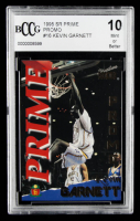 Kevin Garnett 1995 Signature Rookies Prime #16 (BCCG 10) at PristineAuction.com