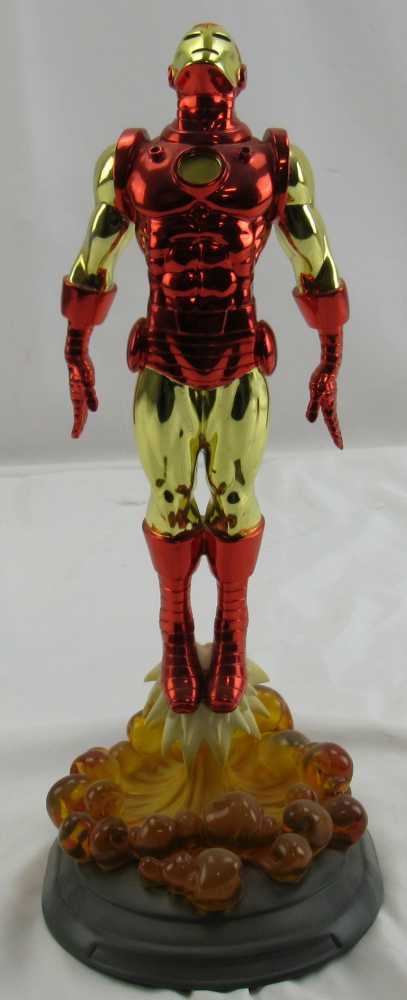 """2007 Marvel Comics """"Iron Man"""" Classic Limited Edition Electroplated Statue Figurine at PristineAuction.com"""