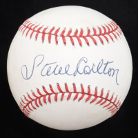Steve Carlton Signed ONL Baseball (Beckett COA) at PristineAuction.com