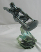 "2005 Marvel Milestones ""Silver Surfer"" Art Asylum Diamond Select Statue Figurine at PristineAuction.com"