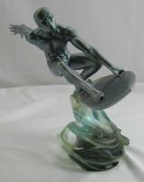 "2005 Marvel Milestones ""Silver Surfer"" Art Asylum Diamond Select Statue Figurine at PristineAuction.com"