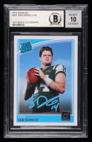 Sam Darnold Signed 2018 Donruss #301 RR RC (BGS Encapsulated) at PristineAuction.com