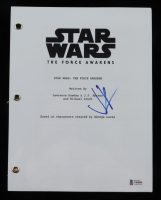 """JJ Abrams Signed """"Star Wars: The Force Awakens"""" Movie Script (Beckett COA) at PristineAuction.com"""