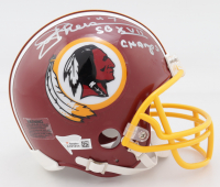 "Joe Theismann Signed Redskins Mini Helmet Inscribed ""SBXVII Champs"" (Fanatics Hologram) at PristineAuction.com"