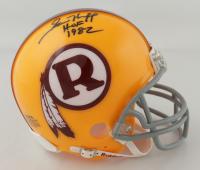 """Sam Huff Signed Redskins Mini Helmet Inscribed """"HOF 1982"""" (JSA COA) at PristineAuction.com"""