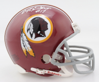 "Billy Kilmer Signed Redskins Mini Helmet Inscribed ""70 Greatest"" (Jersey Source COA) at PristineAuction.com"