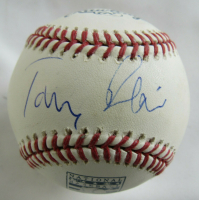 Tony Blair Signed Hall of Fame OML Baseball (Beckett Hologram) (See Description) at PristineAuction.com