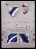 T.J. Zeuch 2020 Topps Triple Threads Printing Plates Magenta #RFPARTZ Jersey Autograph RC #1/1 at PristineAuction.com
