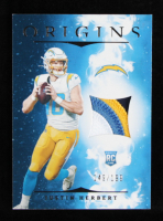Justin Herbert 2020 Panini Origins Rookie Patches #3 RC at PristineAuction.com