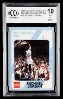 Michael Jordan 1989-90 North Carolina Collegiate Collection #16 (BCCG 10) at PristineAuction.com