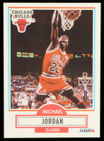 Michael Jordan 1990-91 Fleer #26 at PristineAuction.com