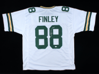 """Jermichael Finley Signed Jersey Inscribed """"Go Pack!"""" (JSA COA) at PristineAuction.com"""