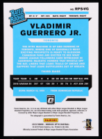 Vladimir Guerrero Jr. 2019 Donruss Optic Rated Rookies Signatures #47 at PristineAuction.com