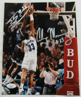 Alonzo Mourning & Shaquille O'Neal Signed 8x10 Photo (JSA Hologram) at PristineAuction.com