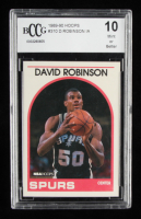 David Robinson 1989-90 Hoops #310 In Action (BCCG 10) at PristineAuction.com