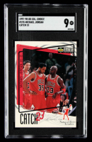 Michael Jordan 1997-98 Collector's Choice #195 Catch 23 (SGC 9) at PristineAuction.com