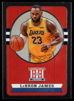 LeBron James 2019-20 Panini Chronicles #561 Hometown Heroes Optic at PristineAuction.com