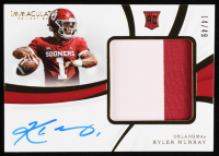 Kyler Murray 2019 Immaculate Collection Collegiate Premium Patches Rookie Autographs #145 at PristineAuction.com
