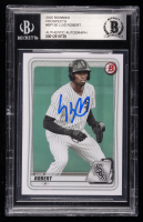 Luis Robert Signed 2020 Bowman Prospects #BP150 (BGS Encapsulated) at PristineAuction.com