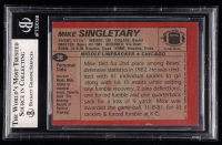 Mike Singletary Signed 1983 Topps #38 RC (BGS Encapsulated) at PristineAuction.com