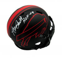 "Bruce Smith Signed Bills Full-Size Eclipse Alternate Speed Helmet Inscribed ""HOF '09"" (JSA COA) at PristineAuction.com"