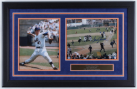 Tom Seaver Signed Mets 16x25 Custom Framed Photo Display (Steiner COA & MLB Hologram) at PristineAuction.com