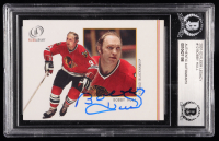 Bobby Hull Signed 2001-02 Fleer Legacy #12 (BGS Encapsulated) at PristineAuction.com