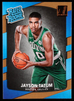 Jayson Tatum 2017-18 Donruss #198 RR RC at PristineAuction.com
