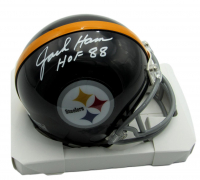 "Jack Ham Signed Steelers Mini Helmet Inscribed ""HOF 88"" (Beckett COA) at PristineAuction.com"
