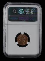 1914 D $2.50 Indian Head Quarter Eagle Gold Coin (NGC AU55) at PristineAuction.com