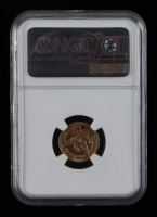 1852 $2.50 Liberty Head Quarter Eagle Holed Gold Coin (NGC AU) at PristineAuction.com
