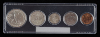 1939 United States Mint Coin Set with (5) Coins at PristineAuction.com
