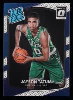 Jayson Tatum 2017-18 Donruss Optic #198 RR RC at PristineAuction.com