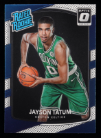 Jayson Tatum 2017-18 Donruss Optic #198 RR RC at PristineAuction.com