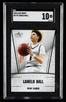LaMelo Ball 2018 Leaf Draft #DS29 (SGC 10) at PristineAuction.com