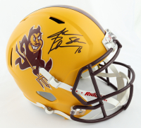 "Jake Plummer Signed Arizona State Sun Devils Full-Size Speed Helmet Inscribed ""Snake"" (Beckett Hologram) at PristineAuction.com"