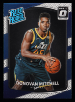 Donovan Mitchell 2017-18 Donruss Optic #188 RR RC at PristineAuction.com