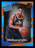 Donovan Mitchell 2017-18 Donruss #188 RR RC at PristineAuction.com
