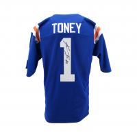 Kadarius Toney Signed Jersey (JSA COA) at PristineAuction.com