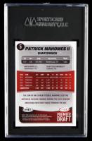 Patrick Mahomes II 2017 SAGE HIT Premier Draft #5 (SGC 10) at PristineAuction.com