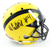 Nico Collins Signed Michigan Wolverines Full-Size Helmet (Beckett Hologram) at PristineAuction.com