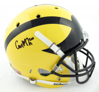 Cameron McGrone Signed Michigan Wolverines Full-Size Speed Helmet (Beckett Hologram) at PristineAuction.com