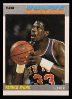 Patrick Ewing 1987-88 Fleer #37 at PristineAuction.com
