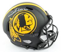Clinton Portis Signed Washington Full-Size Eclipse Alternate Speed Helmet (Beckett COA) at PristineAuction.com