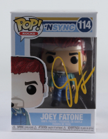 Joey Fatone Signed NSYNC #114 Funko Pop! Vinyl Figure (JSA COA) at PristineAuction.com