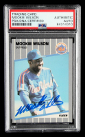 Mookie Wilson Signed 1989 Fleer #52 (PSA Encapsulated) at PristineAuction.com